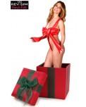 Body Sexy Rouge Nœud Cadeau