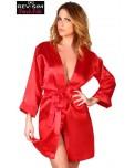 Kimono Sexy Satin Rouge